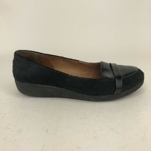 Fitflop FF2 Patent Leather Pony Hair Loafers